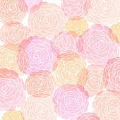 Karta zaproszenie z akwarela róż — Zdjęcie stockowe