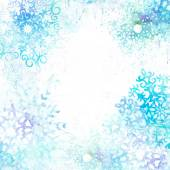 Christmas watercolor background — Stock Photo
