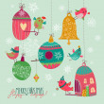 Christmass cute card — Stock Vector #65082069