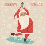 Merry Christmas card — Stock Vector #65082223