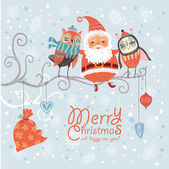 Merry Christmas and Happy New Year! — Stock Vector