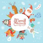 Merry Christmas! card — Stock Vector
