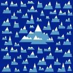 Iceberg pattern — Stock Vector #64531211
