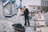 Wedding in Odessa — Stock Photo