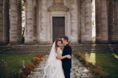Beautiful couple wedding — Stockfoto