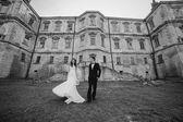 Beautiful couple wedding — Stock Photo