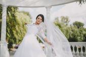 Green wedding — Stock Photo