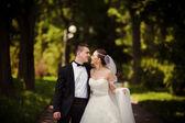 Fashion wedding day — Stock Photo