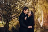 älskande par — Stockfoto