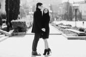 Sevgi dolu bir çift — Stok fotoğraf