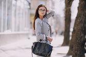 Piękne moda młoda dziewczyna — Zdjęcie stockowe