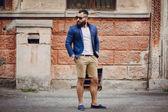 Fashion brard man  — Stock Photo