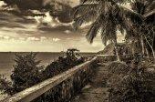 Overlooking Iloilo Straits, Philippines — Stock Photo