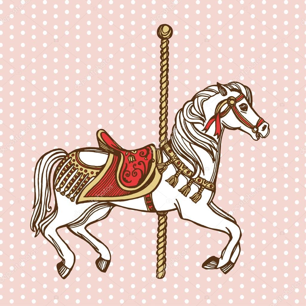 Как сделать узор на лошади