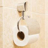 Toilet paper holder in the modern bathroom — Stock Photo