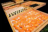 Including sushi, Japanese food palatable — Stock Photo