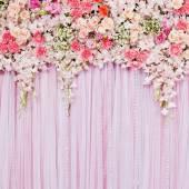 Fond de belles fleurs — Photo