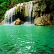 Waterfall in Erawan national park, level 2, Kanchanaburi — Stock Photo #64932317