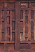 Thai style wooden wall background — Stockfoto