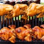 Roast chicken — Stock Photo #64957767