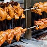 Roast chicken — Stock Photo #64957791