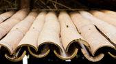 Cane Roof (Shading Mat made of cane) — Stock Photo
