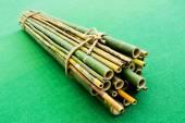 Bamboo Raft — Stock Photo