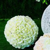 Wedding bouquet in garden — Stockfoto