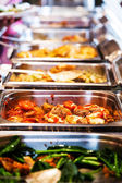 Thailand food buffet. — Stock Photo