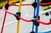 Knot, climbing gear — ストック写真