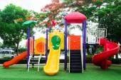 カラフルな遊び場 — ストック写真