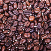 Coffee Beans isolated on white. — Stock Photo