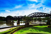 Bridge over River Kwai, Thailand — Stock Photo