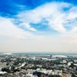 Bangkok Metropolis, aerial view over the biggest city in Thailan — Stock Photo #66204977