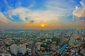 Ptaka bangkok na zachodzie słońca — Zdjęcie stockowe