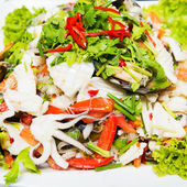 Thailand Sea Food Salad Spicy seafood — Stock Photo
