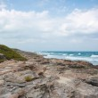 Eastern coast of the Isla Contoy in Mexico — Stock Photo #67960113