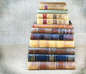 Some old books — Stock Photo