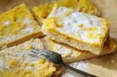 Shortcrust lemon bars — Stock Photo