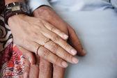Loving hands — Stock Photo
