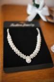 Bride's necklace — Stock Photo