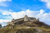 Medieval fortress in Rasnov, Transylvania, Brasov, Romania, December, 2014 — Stock Photo