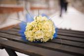 Bride's bouquet — Stock Photo