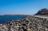 Old Town Nessebar Seaside — Stockfoto