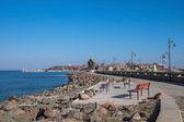 Old Town Nessebar Seaside Closer — Stockfoto