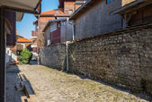 Old Town Nessebar Old Street — Stockfoto