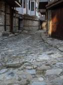 Old Town Nessebar Lovely Streets Vertical — 图库照片