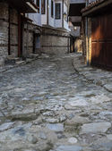 Old Town Nessebar Lovely Streets Vertical — Stock Photo