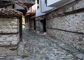 Old Town Nessebar Closed Restraunt — 图库照片