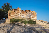Old Town Nessebar Ancient Ruines Two — 图库照片